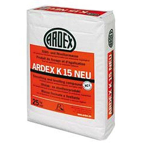 ARDEX K 15 NEU Glätt- und Nivelliermasse 25 kg/ Sack