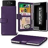 Aventus Doogee X6 Pro Dark Purple Premium-PU-Leder