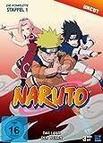 Naruto - Staffel 1: Das Land der Wellen (Episoden 1-19, uncut) [3 DVDs]