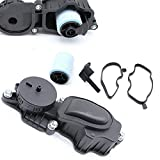 Auto ölabscheider cárter Válvula de ventilación filtro Fit para 11127781465112778982211127793163plástico
