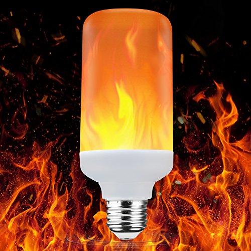 Led Glühbirne,Solocil Flamme Effekt Glühbirne E27 1300K Leuchtmittel LED Bulb Kreative Lichter Dekorative Leuchte für Hause, Garten, Bar, Party, Weihnachten Dekoration