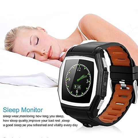 Smart Watch,TianranRT Diggro GT68 Bluetooth Smart Watch Sports Phone Watch
