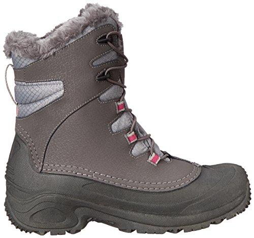 Columbia - YOUTH BUGABOOT PLUS III OMNI-HEAT, Scarpe da escursionismo Unisex – Bambini Grigio (Shale/ Deep Blush)