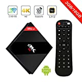 immagine prodotto H96 PRO plus Android 7.1 TV Box 3G 16GB Amlogic 912 64bit Octa Core 4K Cortex-A53 Smart Set top box Supporto Doppio WiFi 2.4G / 5.8G Bluetooth 4.1 1000M Ethernet 3D playing