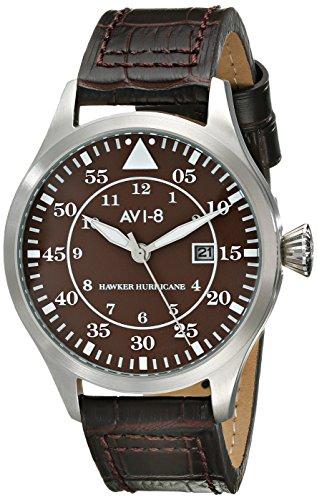 AVI-8 AV-4012-05 - Orologio da polso da uomo, colore: Marrone