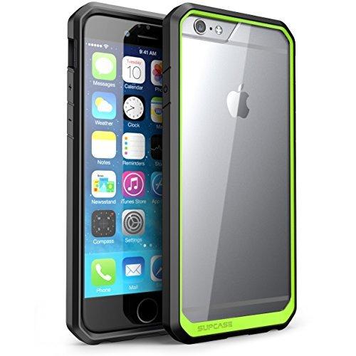 SUPCASE iPhone 6 / 6S Hülle Unicorn Beetle Handyhülle Premium Case Tansparente Schutzhülle Kratzfest Backcover, 4.7 Zoll (Grün)
