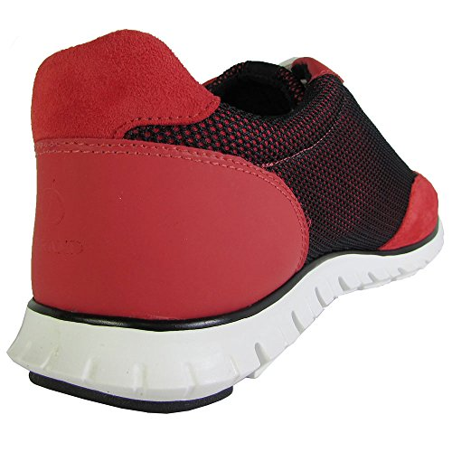 Cole Haan Zerogrand Fashion Sneaker Cranberry Print-Black Mesh