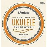 Daddario EJ53B Pro-Arte Rectificado Nylon Bariton Ukulele Saitensatz schwarz