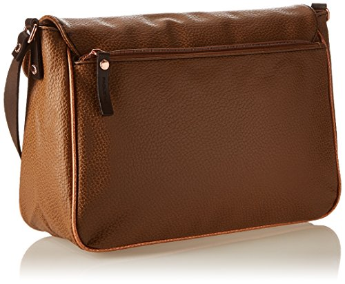 Package Df - Borsa Stile messanger Marron (069/Reliure/Cuivre)