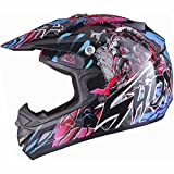 Shox MX-1 Nightmare Motocross MX Enduro Helm L Schwarz