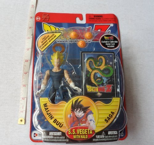 Irwin Dragonball Z Majin Buu Saga SS Vegeta with Halo Figure by Irwin Tools by Irwin Tools
