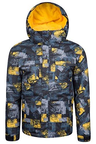 mountain-warehouse-veste-blouson-ski-enfant-hiver-pare-neige-chaud-zorb-jaune-11-12-ans