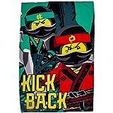 Lego Ninjago Movie 'Jungle' Coperta in Pile–Grande Stampa Design