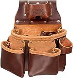 Occidental Leather 5018DB - Fodero porta attrezzi professionale, a 3 scomparti