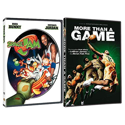 Space Jam + More Than A Game: 2 Movie DVD Collection - Starring Michael Jordan & LeBron James
