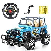 1:16 Control remoto eléctrico de cuatro vías para vehículo todoterreno Jeep resistente a los