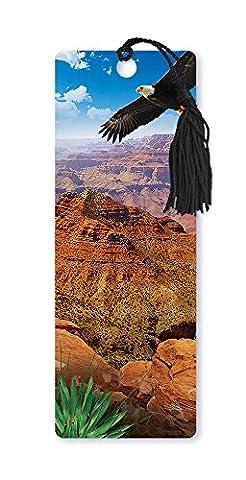 Dimension 93D Linsenraster Lesezeichen mit Quaste, Arizona