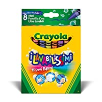 Crayola Ultra Clean Crayons (8-Piece, Large)