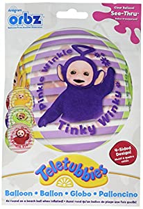 "Amscan International - 3449001 15 ""Teletubbies Orbz globo en forma de"""