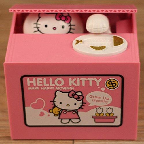 ALAIX-rubare monete salvadanaio scatola decorazione artistica Hello kitty