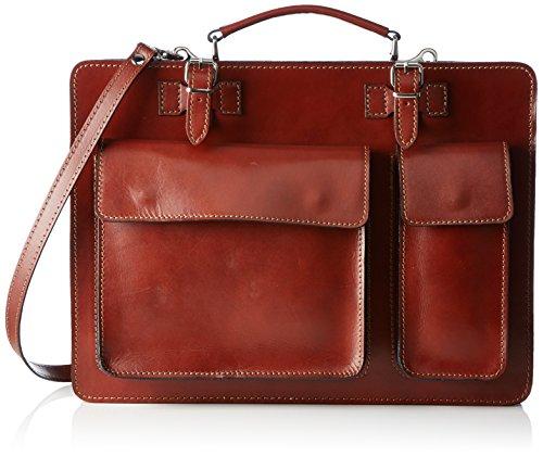 Bags4Less Unisex-Erwachsene Mondial Laptop Tasche, 10 x 30 x 40 cm Braun (Braun)