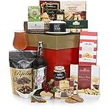 Cesta'Navidad Gourmet' - Cestas de regalo de Navidad sin alcohol para él o para ella