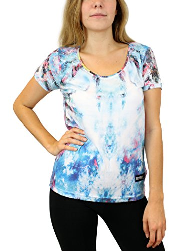 Eleven Paris Damen T-Shirt HOCEAN W Mehrfarbig (OLOCAN PRINT PR156)