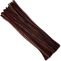 Thingers UK Pipe Cleaners - 30cm - Brown - Pack of 200