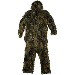 Mil-Tec Traje antifuego Ghillie Suit Anti Fire, 4piezas, talla: XL