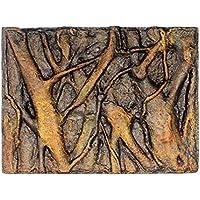 Hunpta - Fondo de espuma 3D para acuario, diseño de roca y reptil, para decoración de peceras (I)