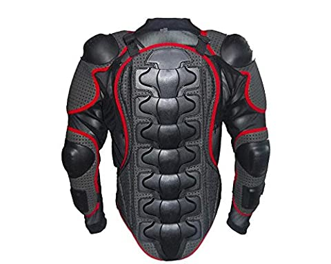 Wales Lucky Motorcycle Full Body Armour Armor Jacket Shirt Protector Guard Pro Motocross ATV Street Off Road Ski skate Skiing Skating Snowboard