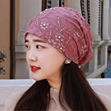 Best Four Seasons Air Conditioners - RangYR Women's Hat Ms Cap Spring Summer Turban Review