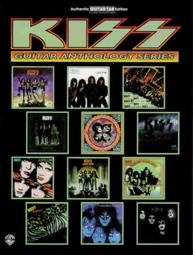 Tab Book Guitar Kiss (KISS -- Guitar Anthology: Authentic Guitar TAB (Guitar Anthology Series) by KISS (2000-03-01))