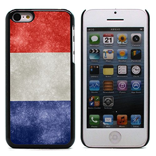 Graphic4You Vintage Uralt Flagge Von Portugal Portugiesisch Design Harte Hülle Case Tasche Schutzhülle für Apple iPhone 5C Frankreich Französisch