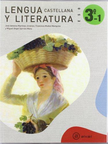 Lengua Castellana Y Literatura. Trimestres.3º ESO por José Antonio Martínez Jiménez