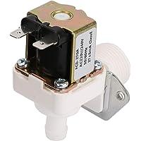 Électrovanne électrique, électrovanne électrique en plastique N/C AC 220V, vanne de Type normalement fermée pour machine…