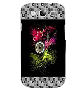 PrintDhaba Abstract Design D-3177 Back Case Cover for SAMSUNG GALAXY S3 (Multi-Coloured)