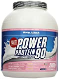 Body Attack Power Protein 90, Strawberry White Chocolate Cream, 2kg Dose
