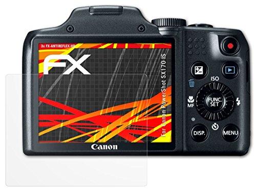 canon-powershot-sx170-is-protezione-pellicola-dello-schermo-3-x-atfolix-fx-antireflex-hd-ad-alta-ris