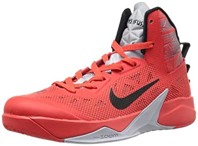 Nike -  615896 - Chaussures - Homme - Rouge (Lt Crimson/Black-Wolf Grey) - Taille: 46
