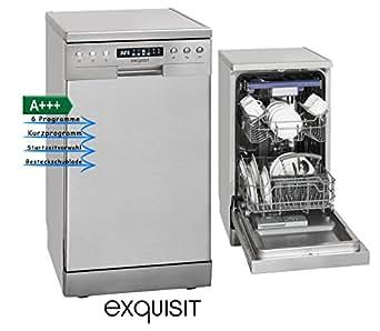 Exquisit Gsp 9510 1 Inox Spulmaschine Inox Amazon De Elektro