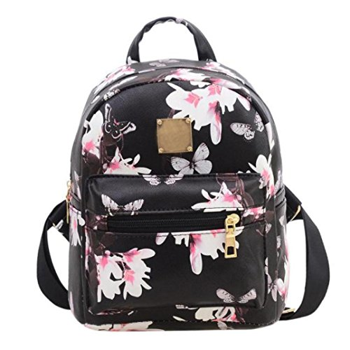 ouneed-women-backpack-fashion-causal-floral-printing-leather-bag-black-