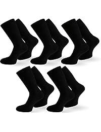 10 Paar Diabetiker Gesundheitssocken Herren Socken ohne Gummi