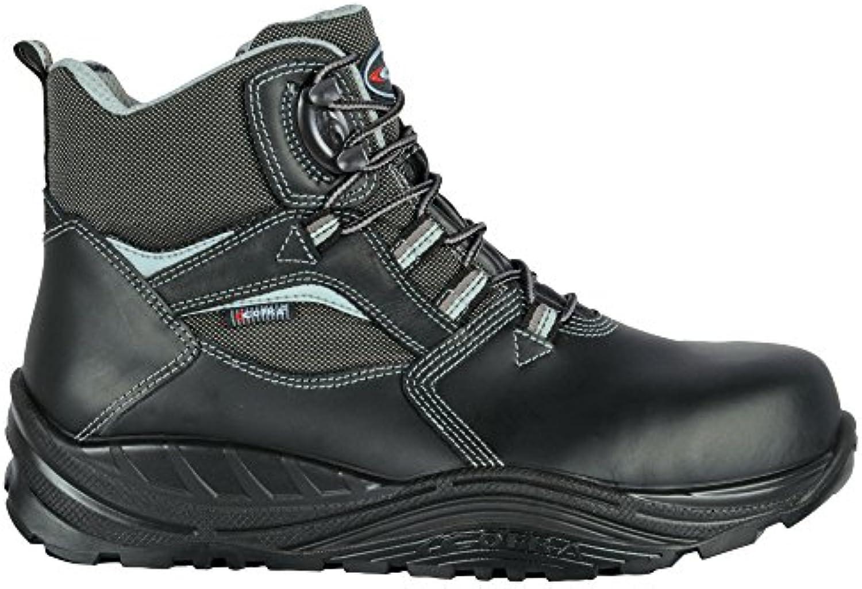 Cofra 40-55230001-46 - Seguridad Botas Shoden S3 Ci Src Maxi Confort 55230-001 altos zapatos, Negro, Tamaño 46