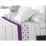 Juego de cama Dilton cama de 105 Color Morado