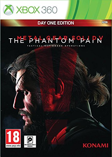 Metal Gear Solid V : The Phantom Pain - édition day one - Xbox 360 [Importación francesa]