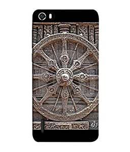 PrintVisa Designer Back Case Cover for Huawei Honor 6 (Artistic heritage lover brown rock stone )