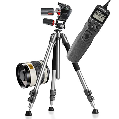 Astro Fotografie Set 800mm Nikon Timer Nikon N1