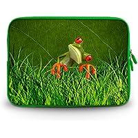 'Corlfulcase & # 174; 2014nuovo 29,5cm 30,7cm 31cm pollici borsa da trasporto/custodia laptop notebook per Samsung Chromebook/Samsung Galaxy Tab Pro 12.2/Dell Latitude E6230XT2XPS Duo/Asus B23/HP 4230S 2560P/Toshiba U920T/Intel Letexo–Thinking Frog SC12–18832