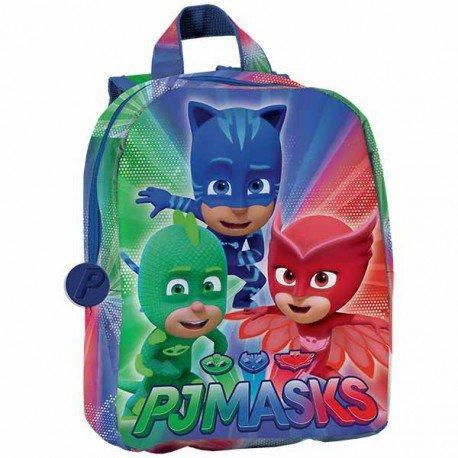Masques PJ Pyjama Héros a95762Sac à Dos pour Enfant, 27centim eters, Polyester, Multicolore, Catboy, eulette, Gecko